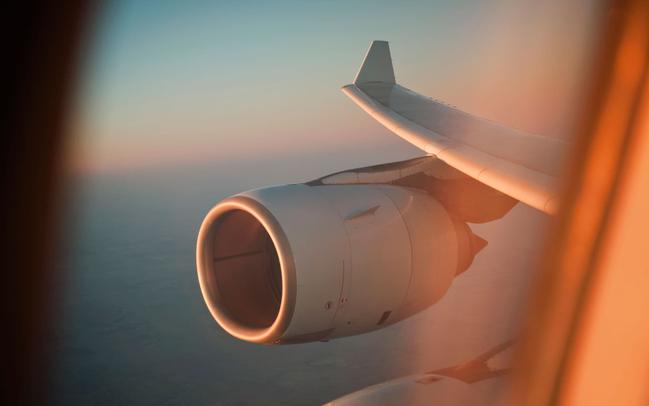 How far can a plane fly if both its engines fail?