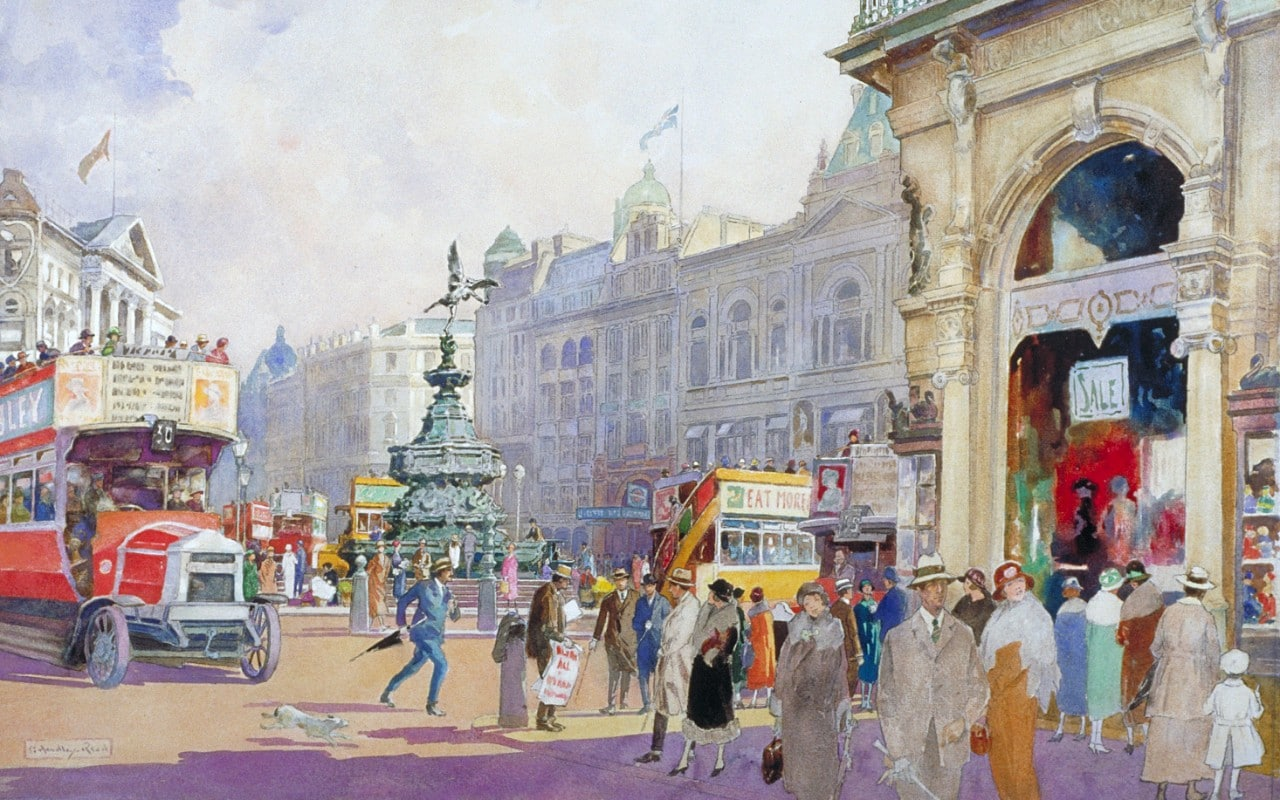 The fascinating history of Piccadilly Circus