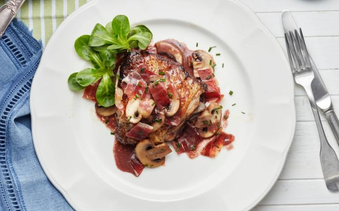 Le coq au vin is a classic and hearty French cuisine
