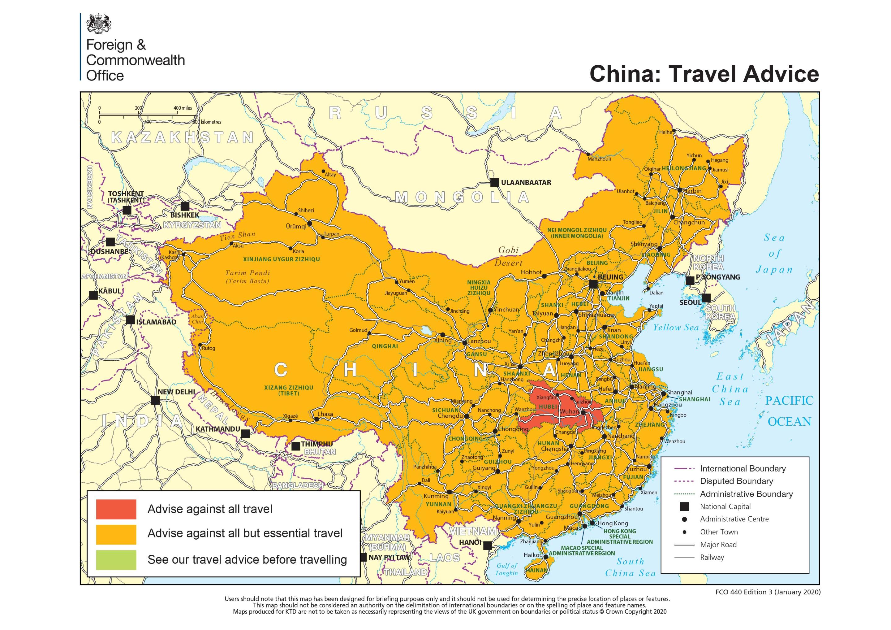 China and Hong Kong travel advice: What should I do if my holiday ...