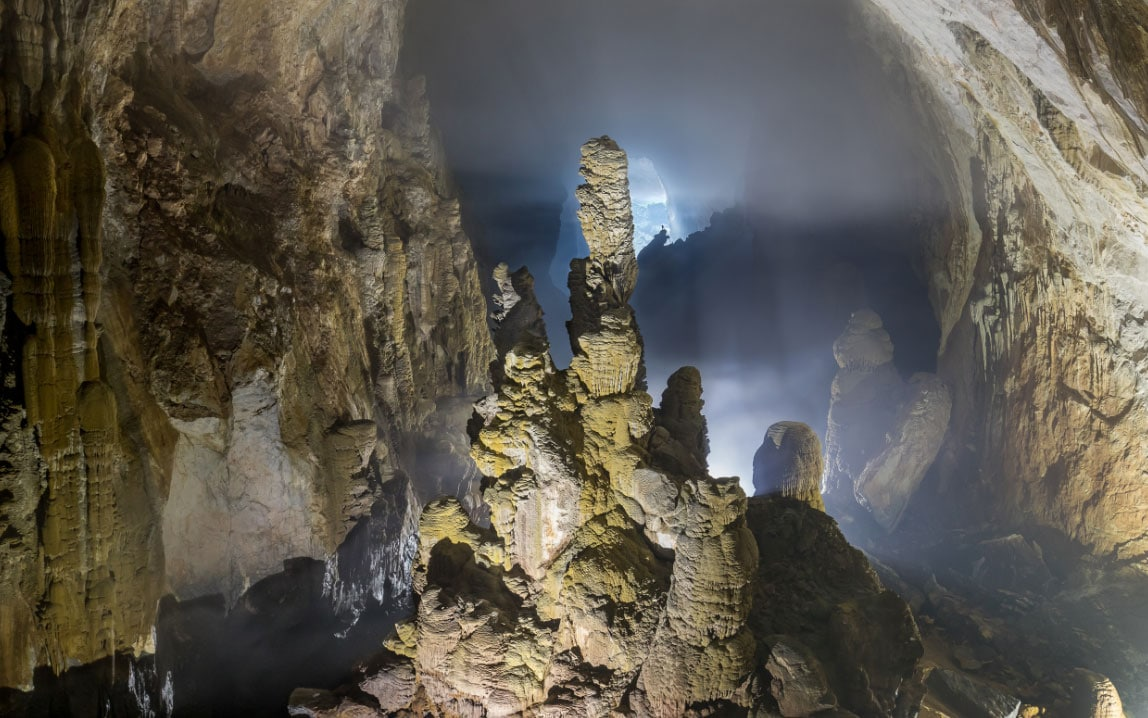 Son Doong was first discovered by a man named Hồ Khanh in 1991