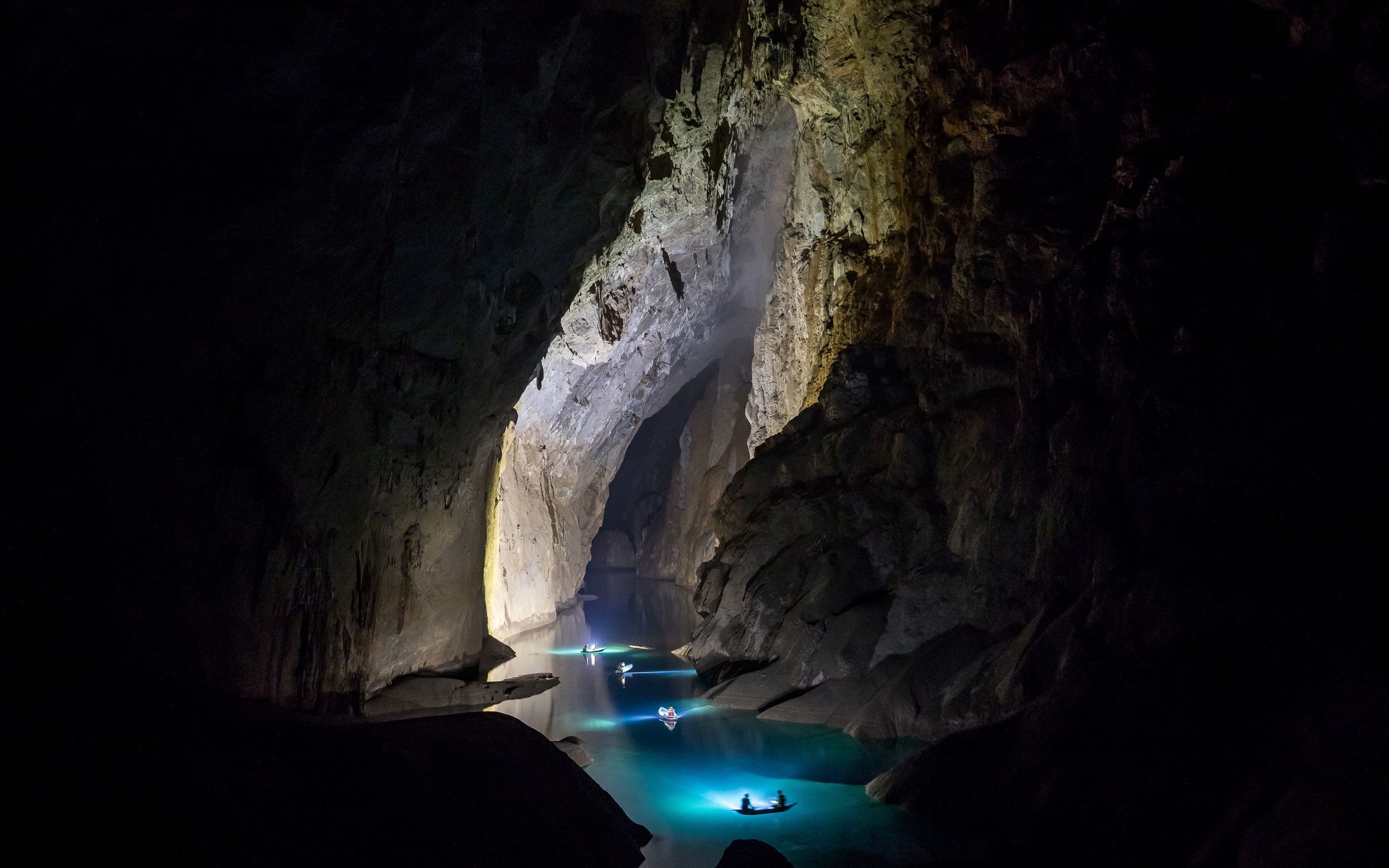 A film crew visited the cave in February to highlight the cave's uniqueness