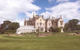 The SCHLOSS Roxburghe Hotel, Kelso, Scotland