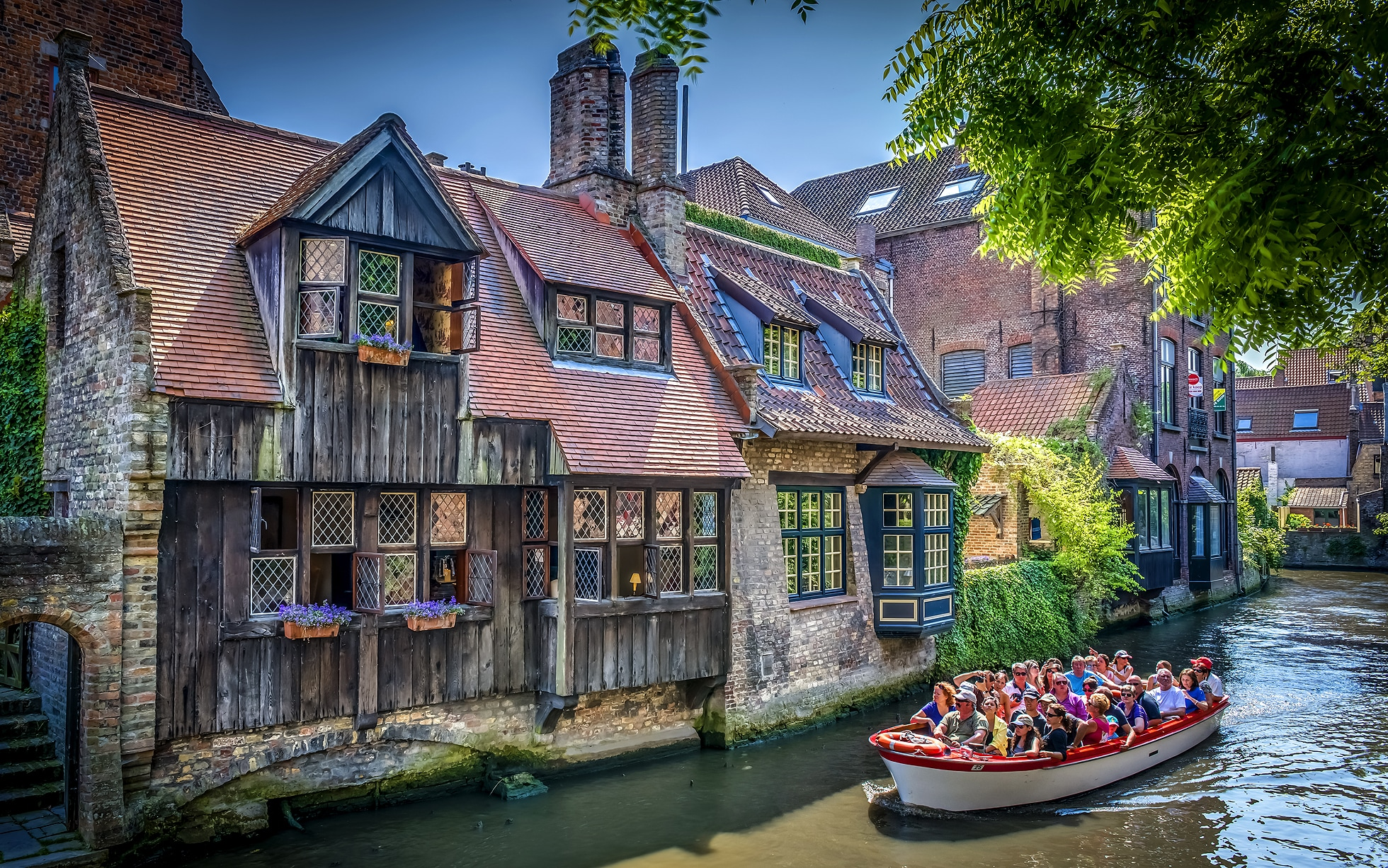 Falling Water House Wallpaper Top 10 The Best Hotels On Bruges Canals Telegraph Travel
