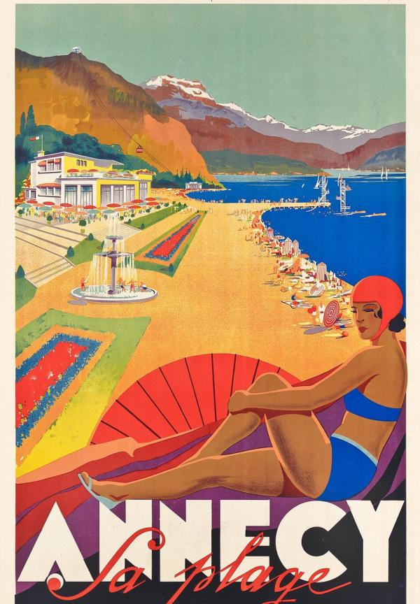 Vintage Travel Posters Art Of Selling Holidays With Bikini Models