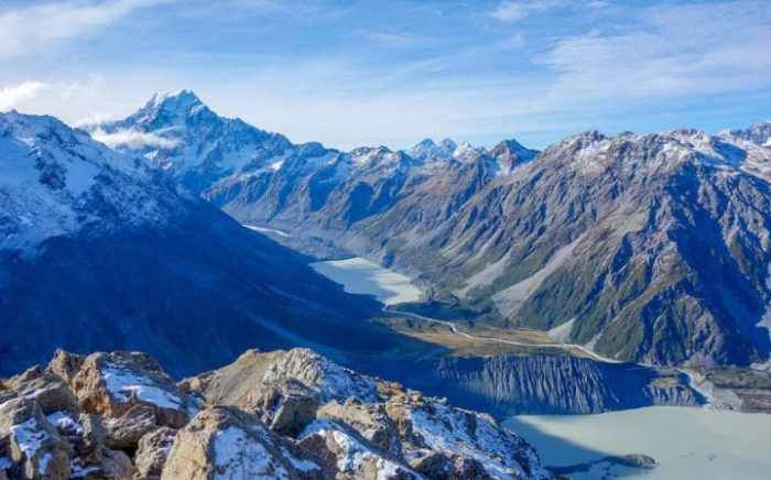 New Zealand is ahead in the vote to be named the world's best country - but there are a host of rivals not far behind