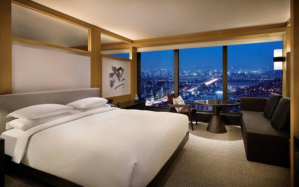 Grand Hyatt Seoul South Korea Telegraph Travel