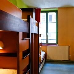 Retro Kitchen Tables Designs Layouts Auberge De Jeunesse Du Vieux Lyon Hotel Review, France ...
