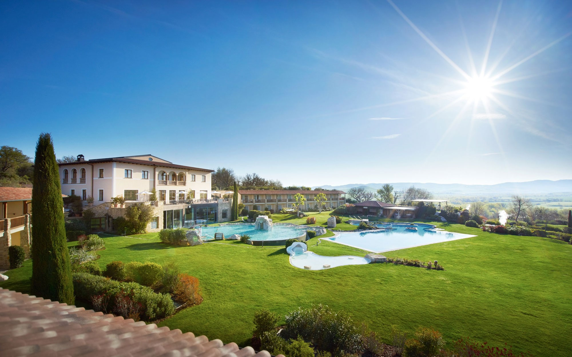 Hotel Adler Thermae Spa  Relax Resort Review Bagno Vignoni Tuscany  Travel