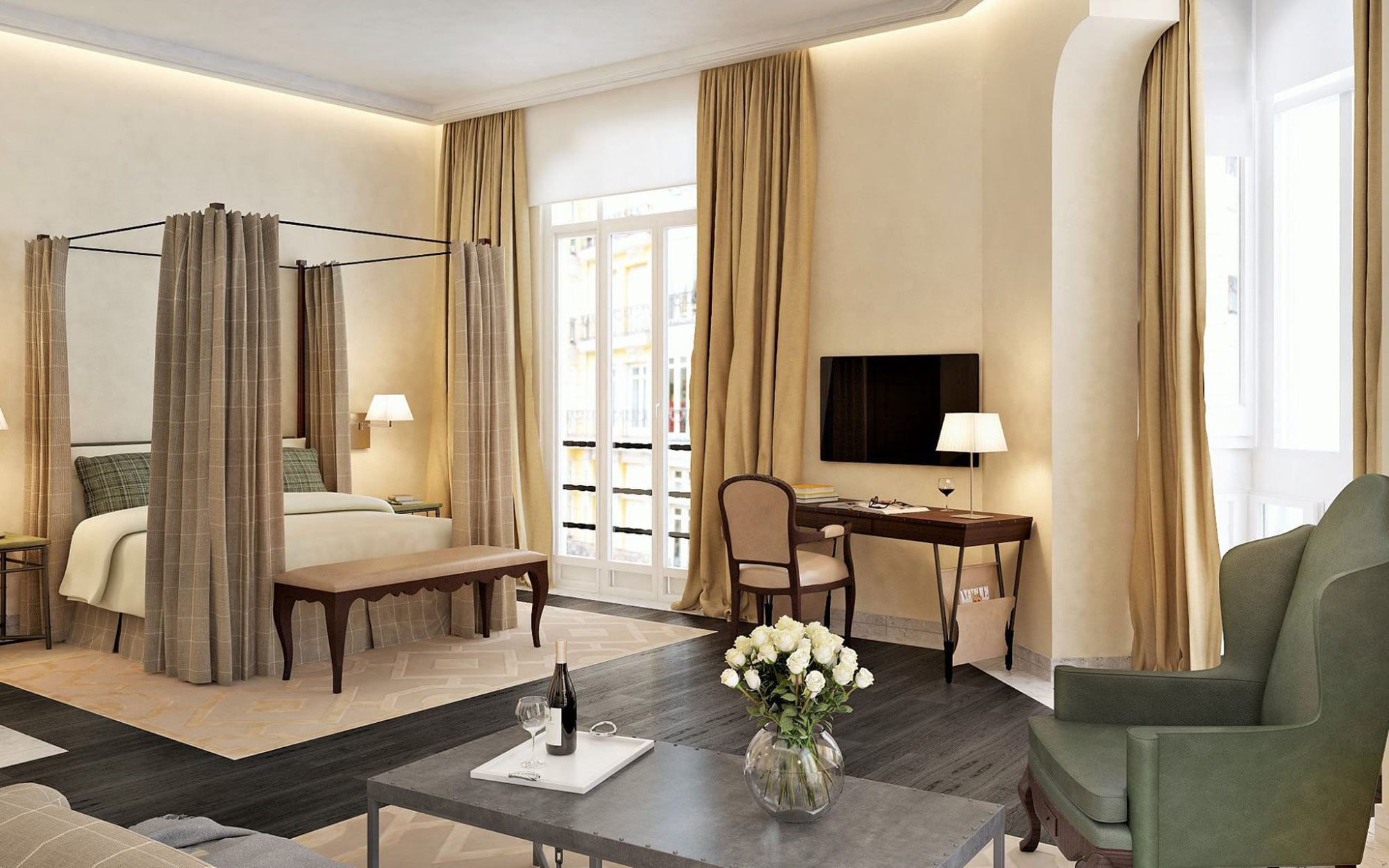 Urso Hotel Spa Review Madrid Spain Telegraph Travel