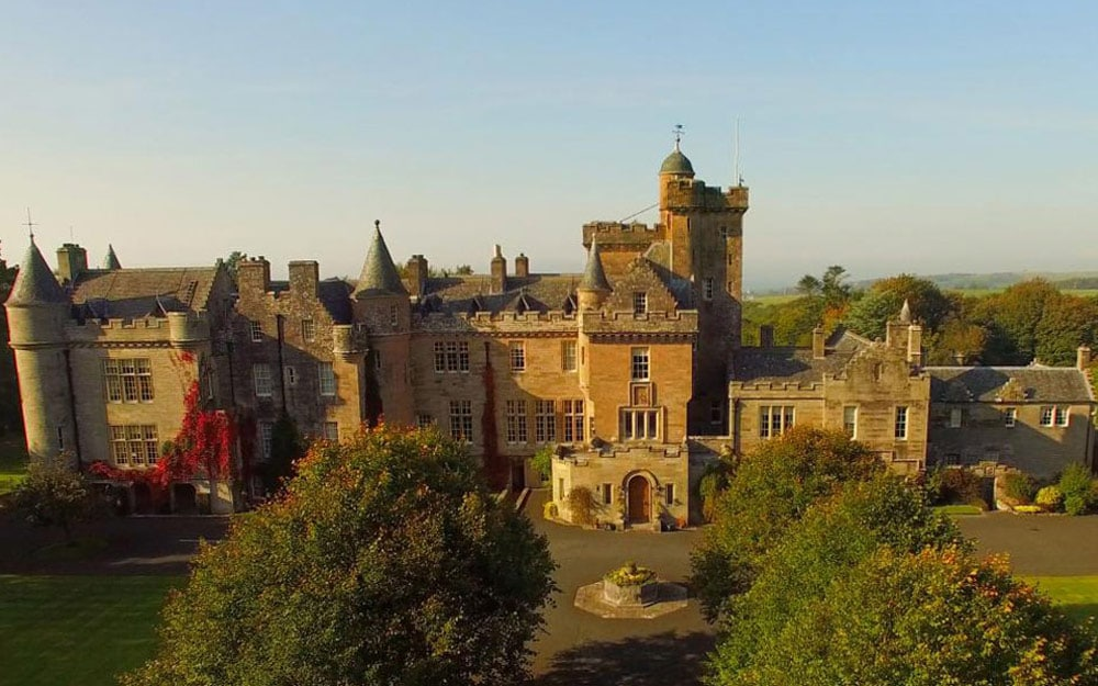 The Best Castle Hotels In Britain Telegraph Travel