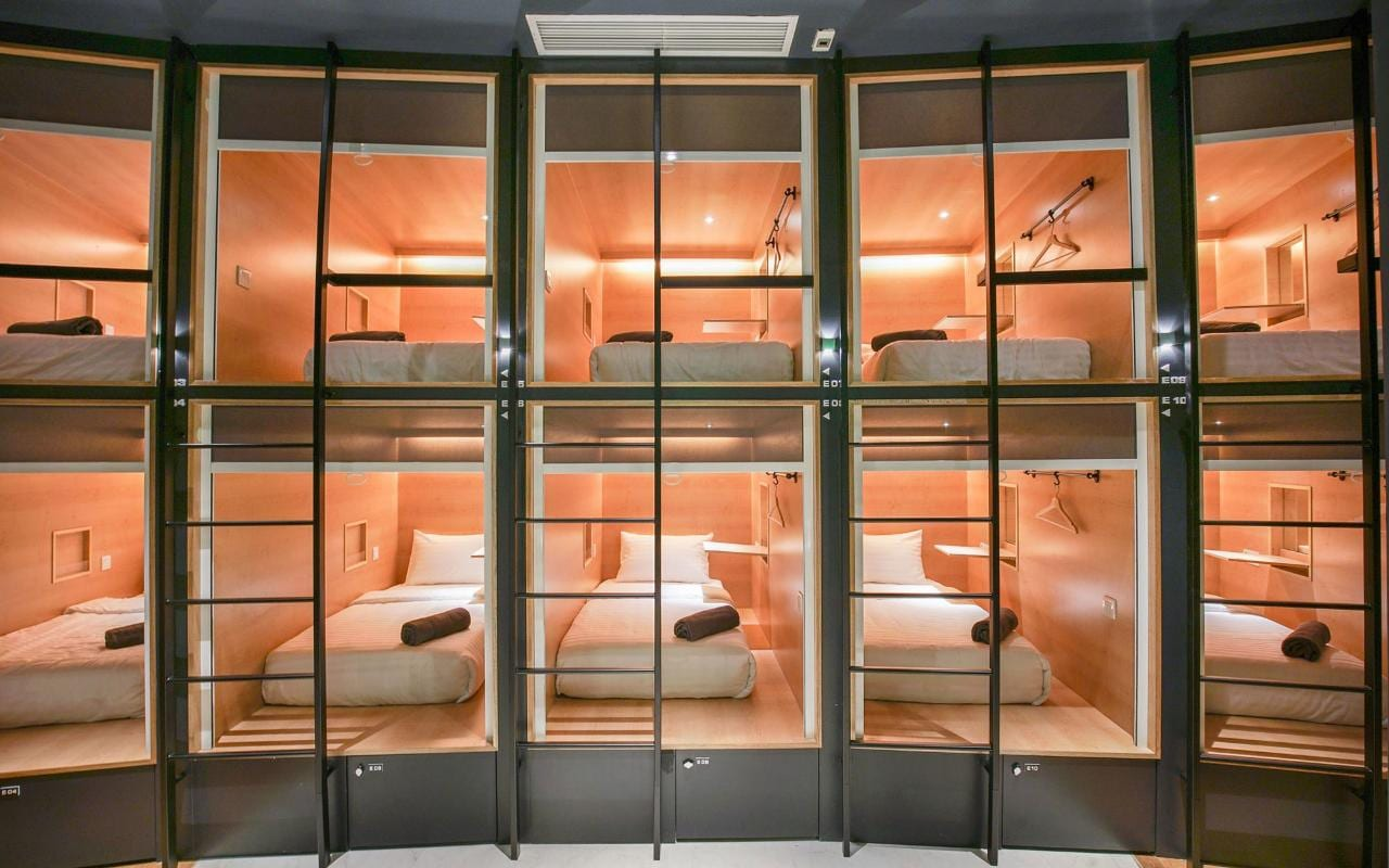 Riccarton Capsule Hotel  The worlds best capsule hotels  Travel
