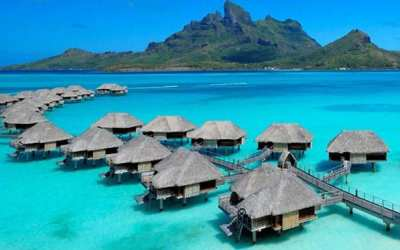 Four Seasons Resort Bora Bora Hotel Review, French ...