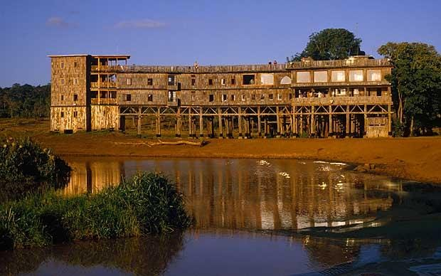 The Queen at Treetops Africas royal safari lodges
