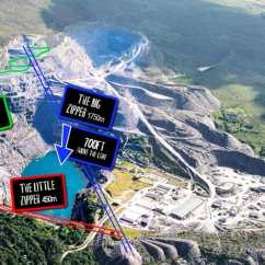 4 Man Zip Wire Wales Mercruiser Wiring Diagram 7 One Mile To Open In Telegraph