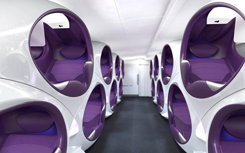 Could pod seats be the future of air travel  Telegraph