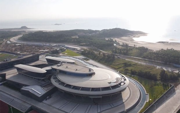 Theres a building in China shaped like Star Treks USS