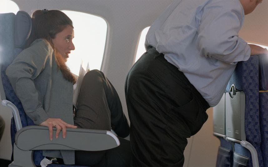 The end of shrinking airline seats Minimum seat size