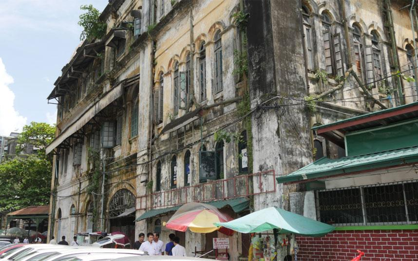 Burma The fight to save Yangons crumbling colonial