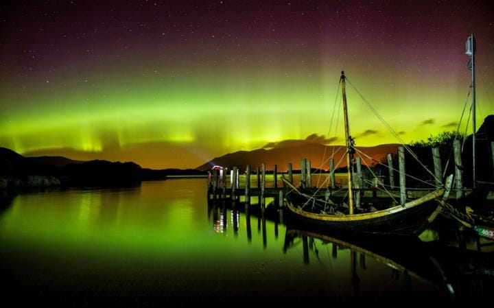 Where is the best place to see the Northern Lights in the UK and what is the best time to see them?