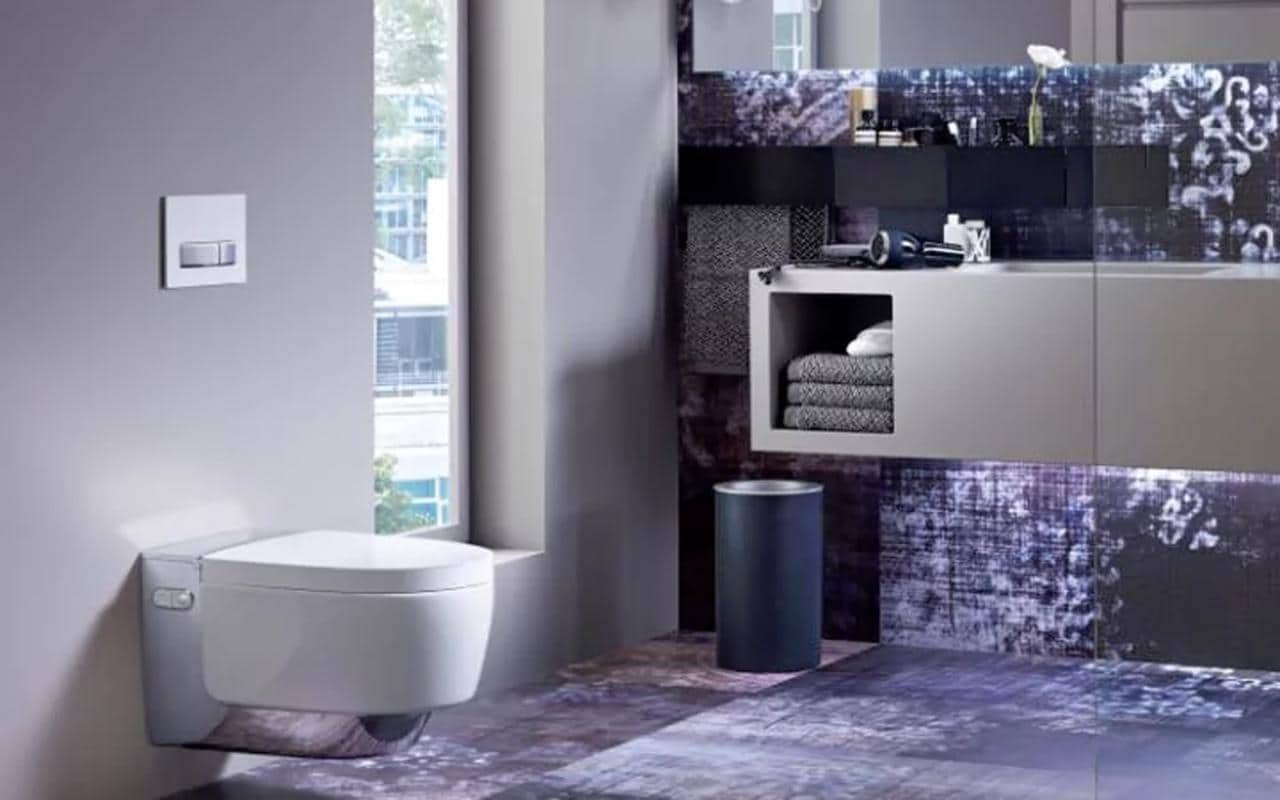 Geberit AquaClean Mera when elegance and technology combines