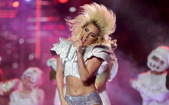Image result for lady gaga super bowl