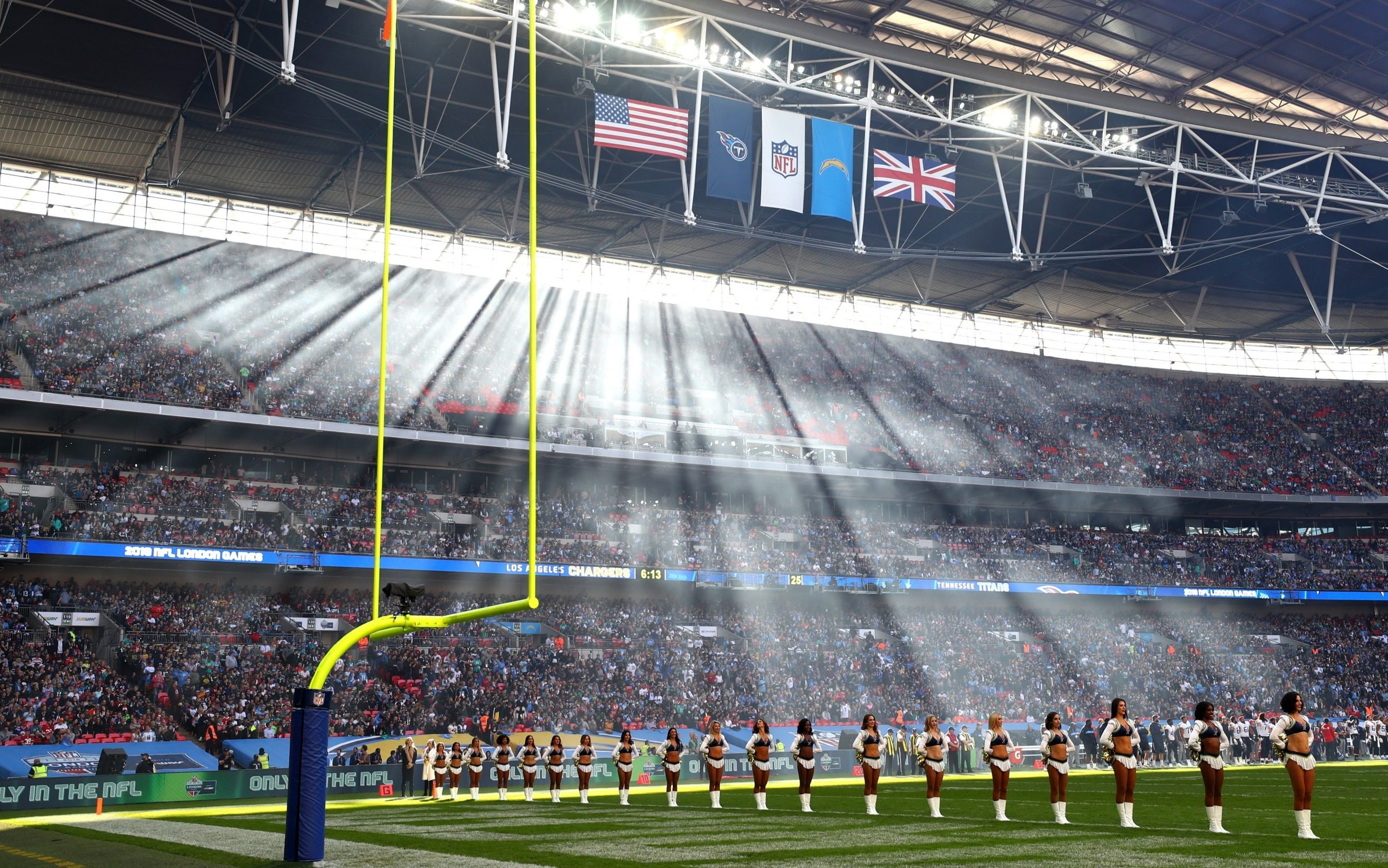 Nfl Confirm That Four Games Will Be Held In The Uk In 2019