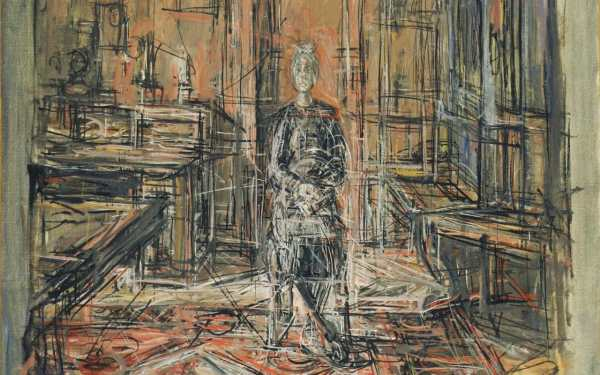Giacometti National Portrait 'triumphant'