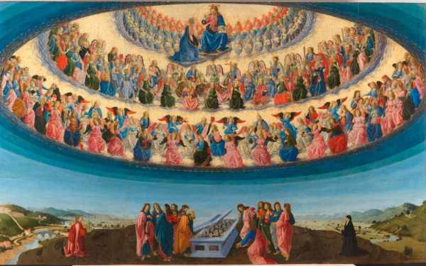 Visions Of Paradise Botticini' Palmieri Altarpiece National ' Fascinating Story'