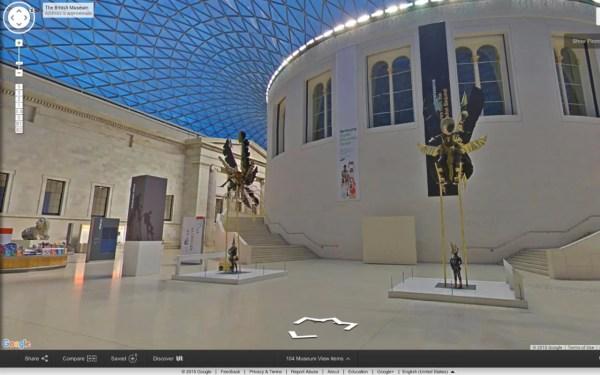 Google Art Museum Virtual Tour