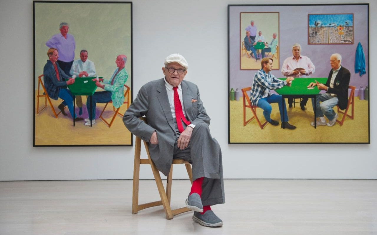 David Hockney interview Your face belongs to other people