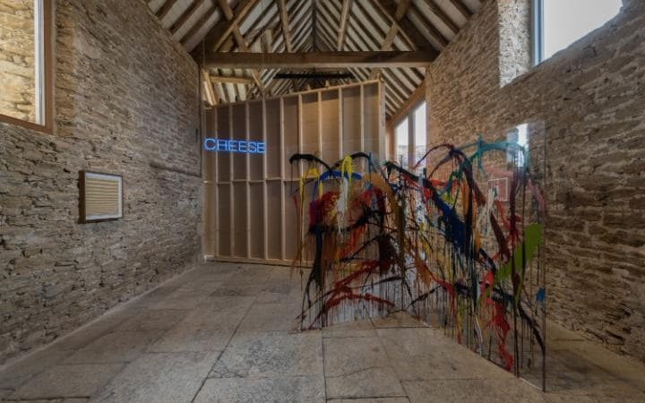 Installation view, 'Martin Creed. What You Find', Hauser & Wirth Somerset, 2016