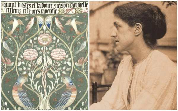 Morris Unsung Heroine Of Arts And Crafts Movement