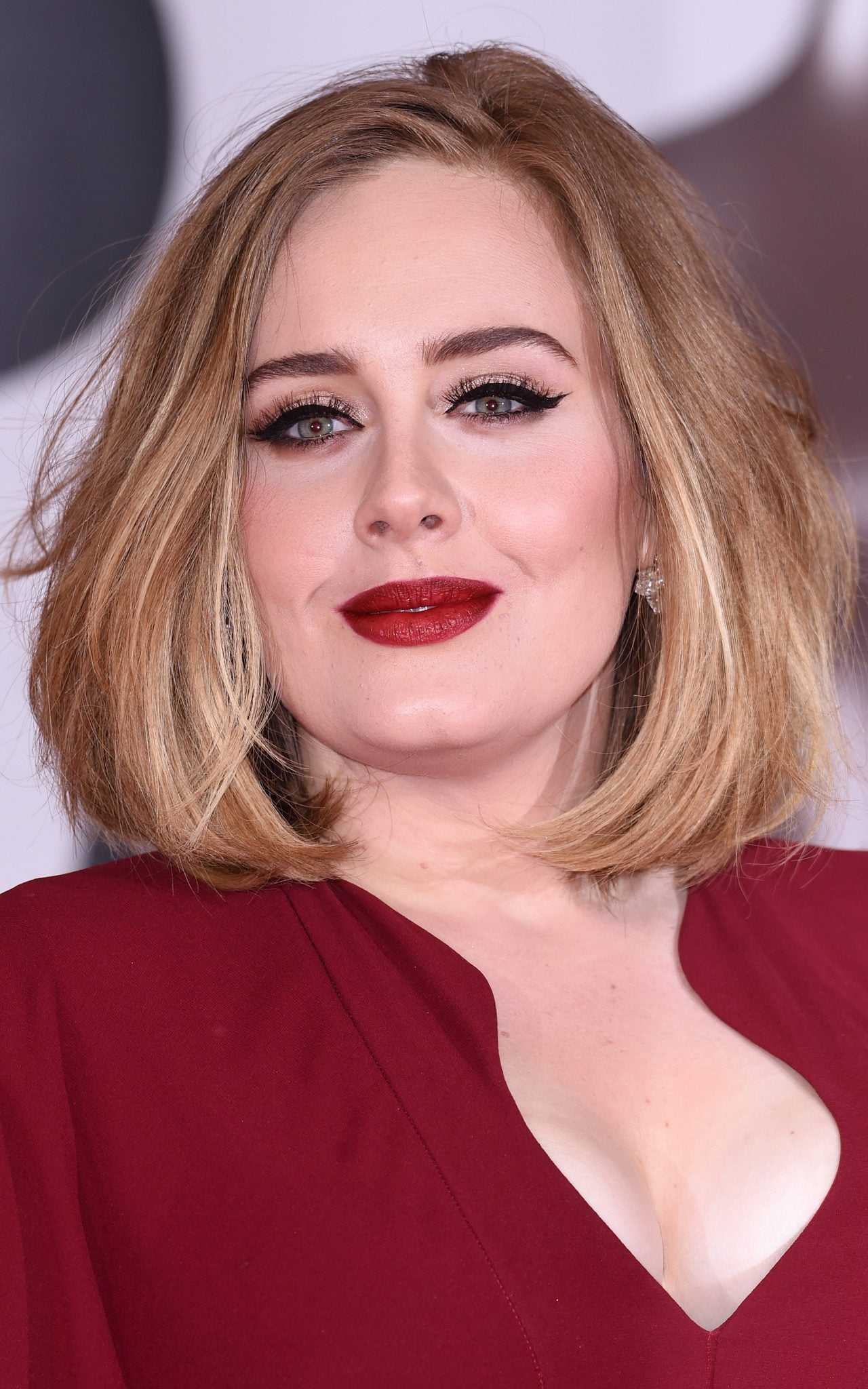 Adele Collects Four BRIT Awards Wearing A 1250 Foundation