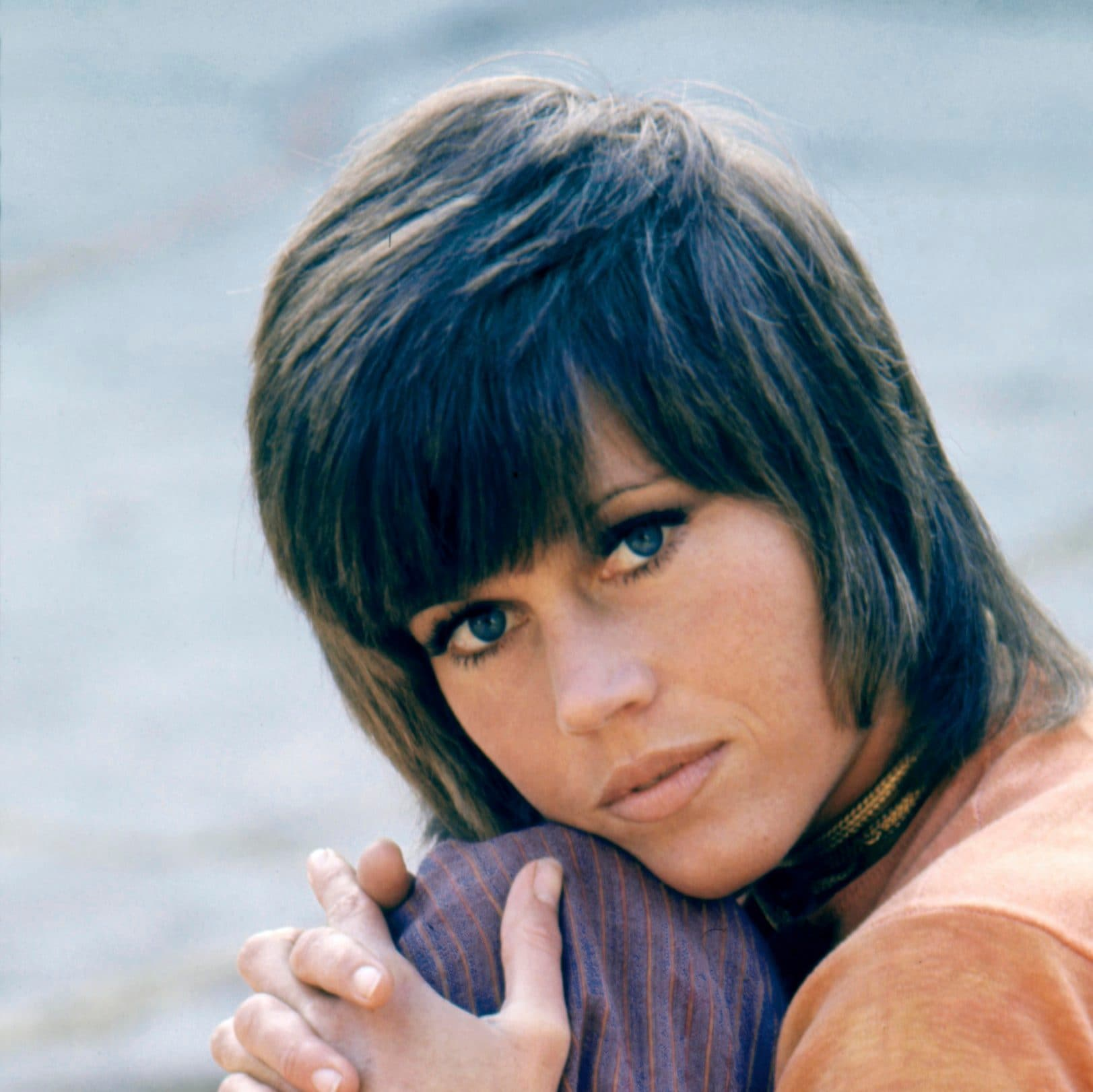 Jane Fonda On The Set Of Klute Jane Fondas Hairstyles