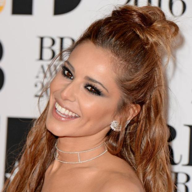 Cheryl Fernandez-Versini at the Brits