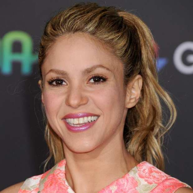 Shakira at the premiere of Zootopia