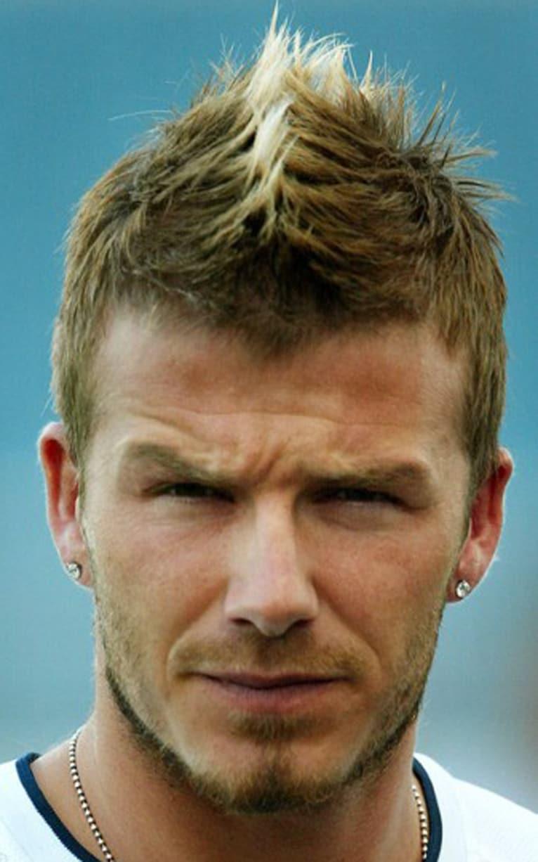 Mohawk David Beckhams Hair Beauty