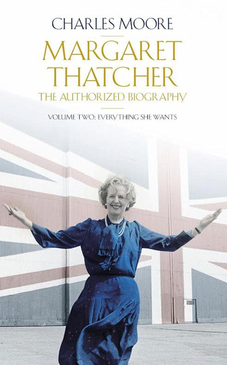 Margaret Thatcher Charles Moore cover
