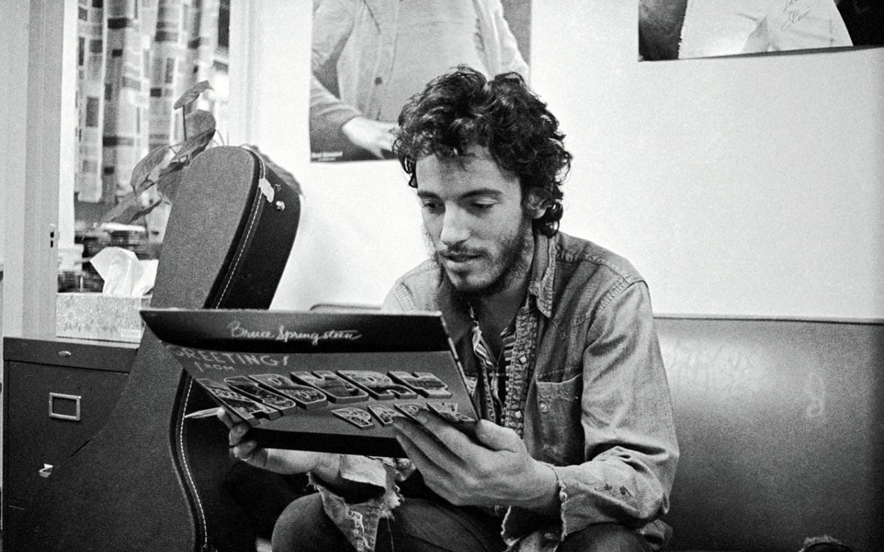 Bruce Springsteen My father used to call me outcast