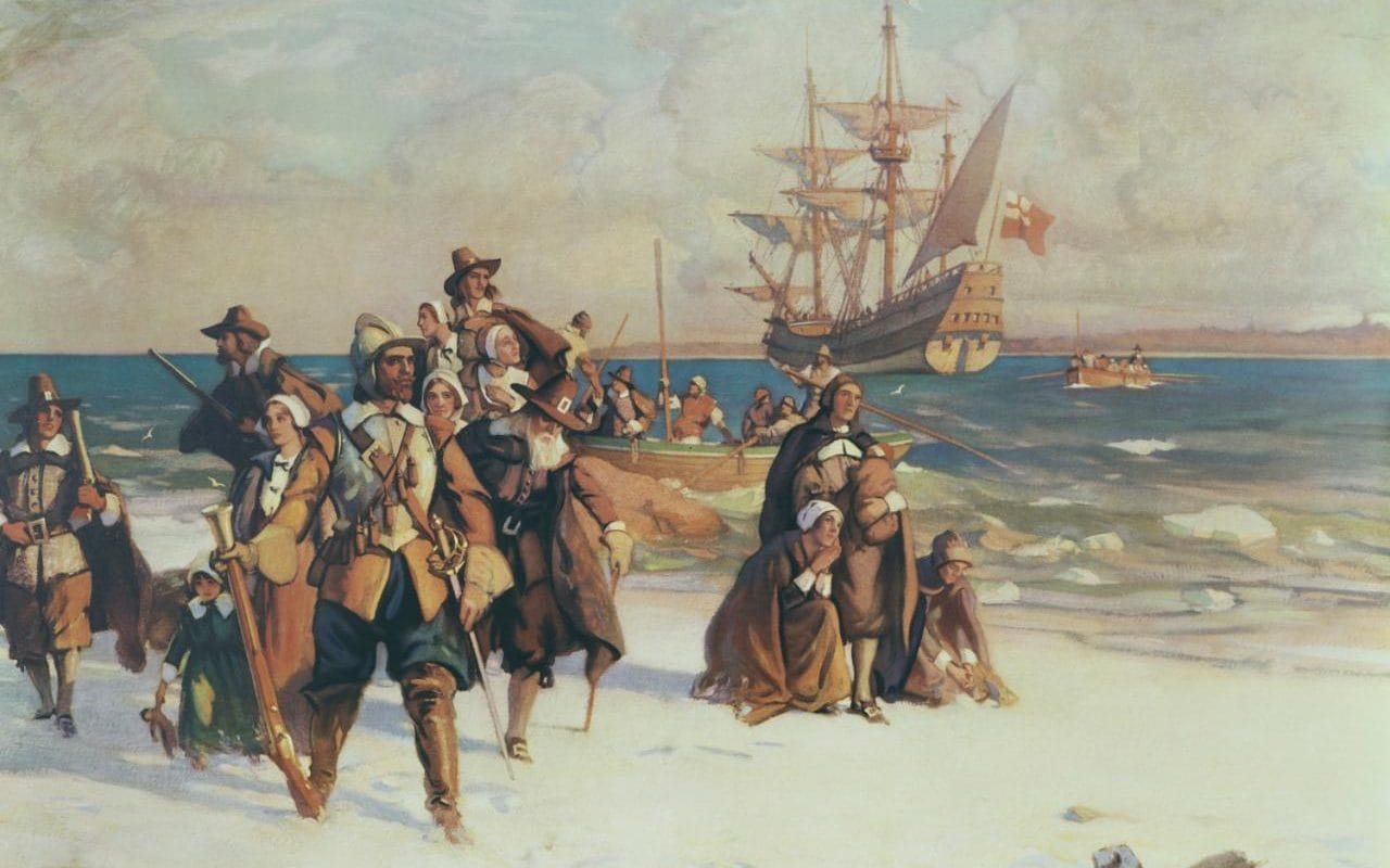 What made 17thcentury England so unbearable that thousands risked the voyage to America