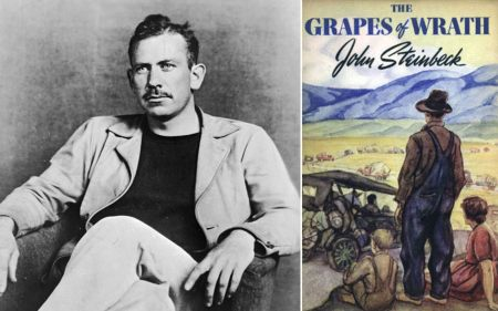 Image result for john steinbeck and the grapes of wrath