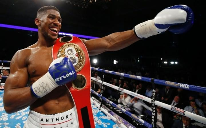 Image result for Anthony Joshua's opponent to be revealed next week
