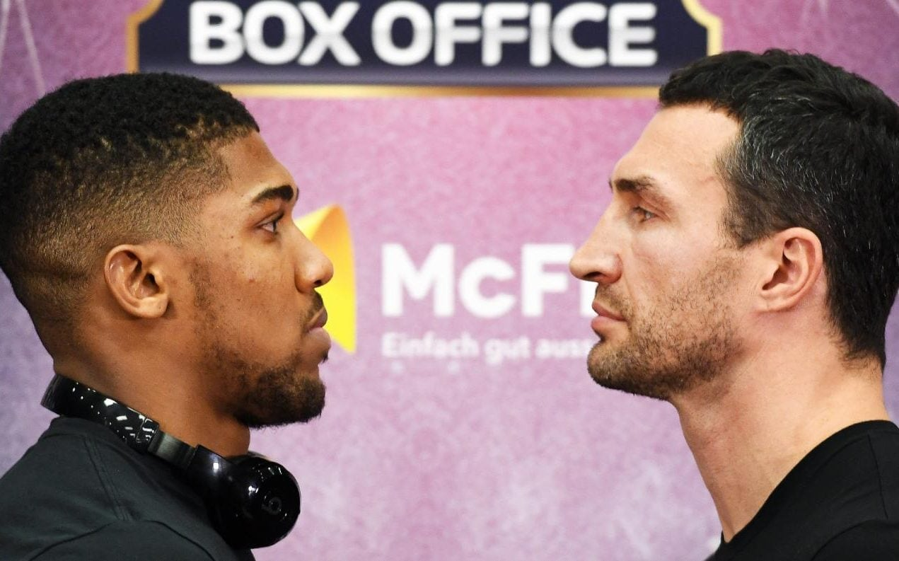 Anthony Joshua vs Wladimir Klitschko How to buy tickets