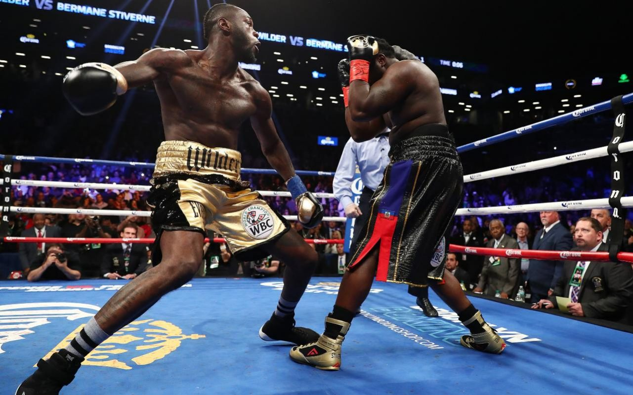Deontay Wilder Declares War On Anthony Joshua After