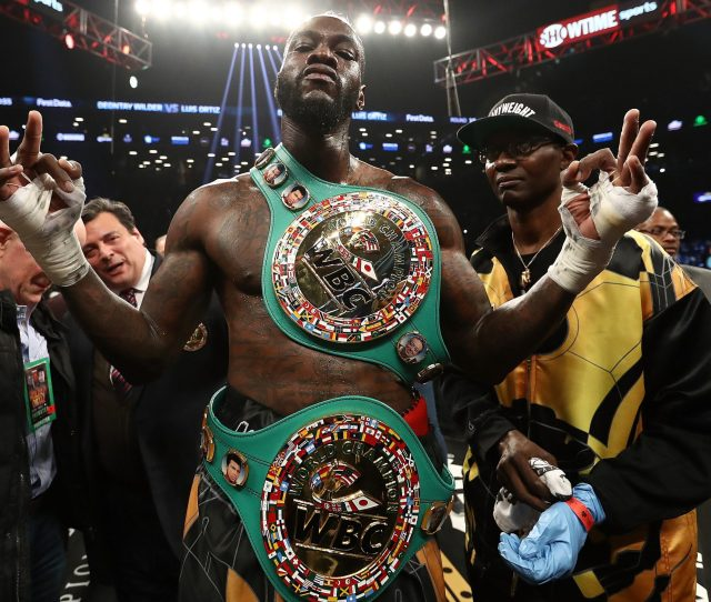 Deontay Wilder Deontay Wilder Has Set His Sights On Tyson Fury After Talks For An