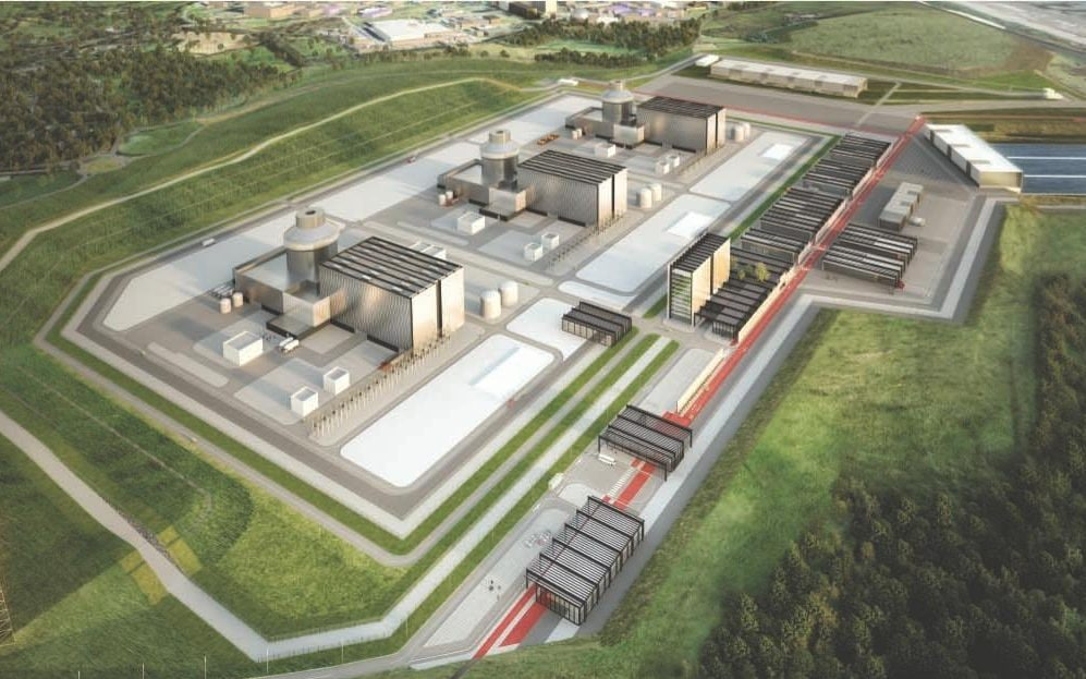 Visualisation of proposed Moorside power plant