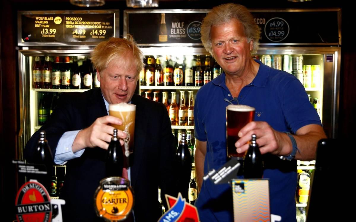 Boris Johnson Tim Martin