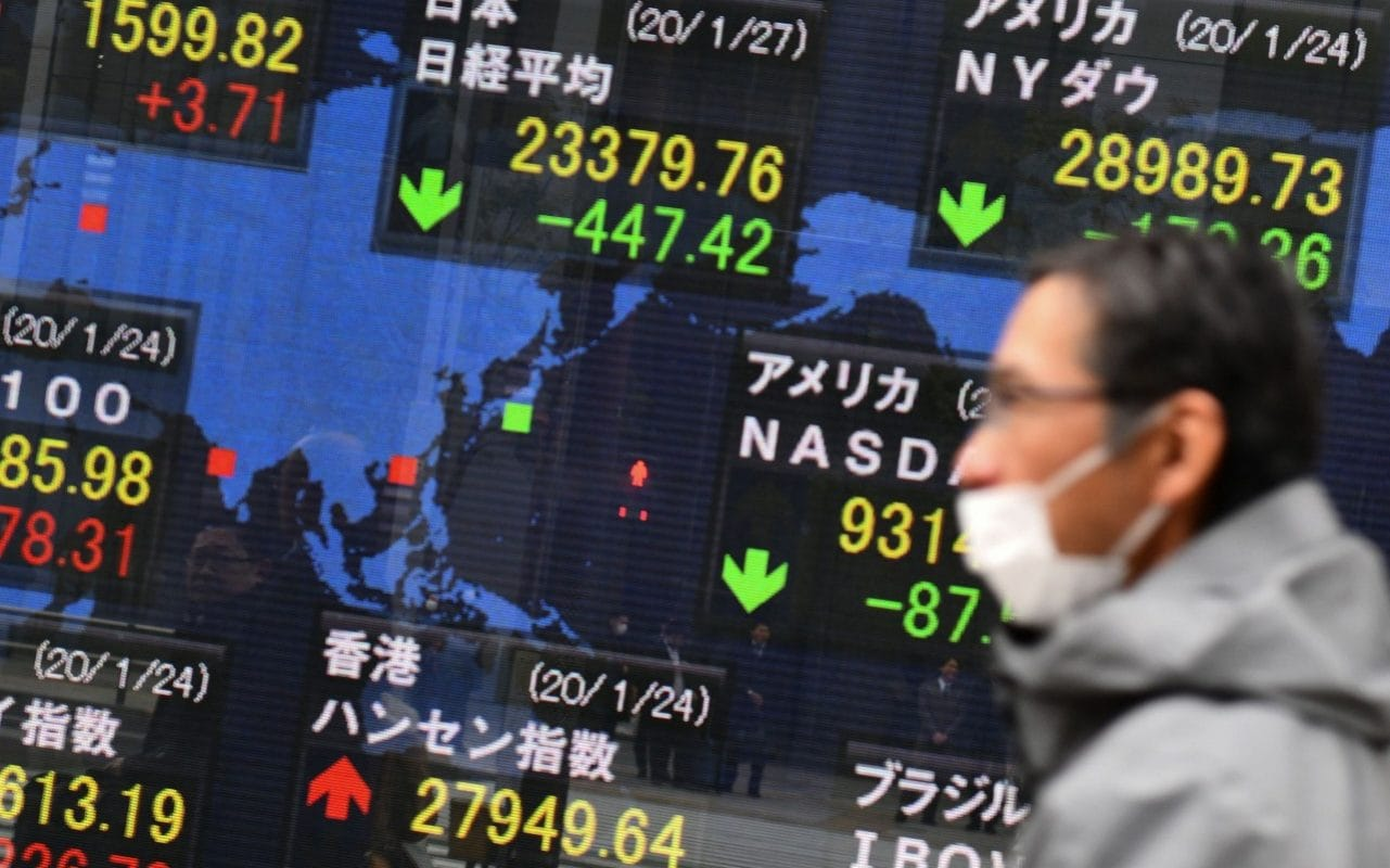 Shares And Oil Plunge As Coronavirus Rattles Markets
