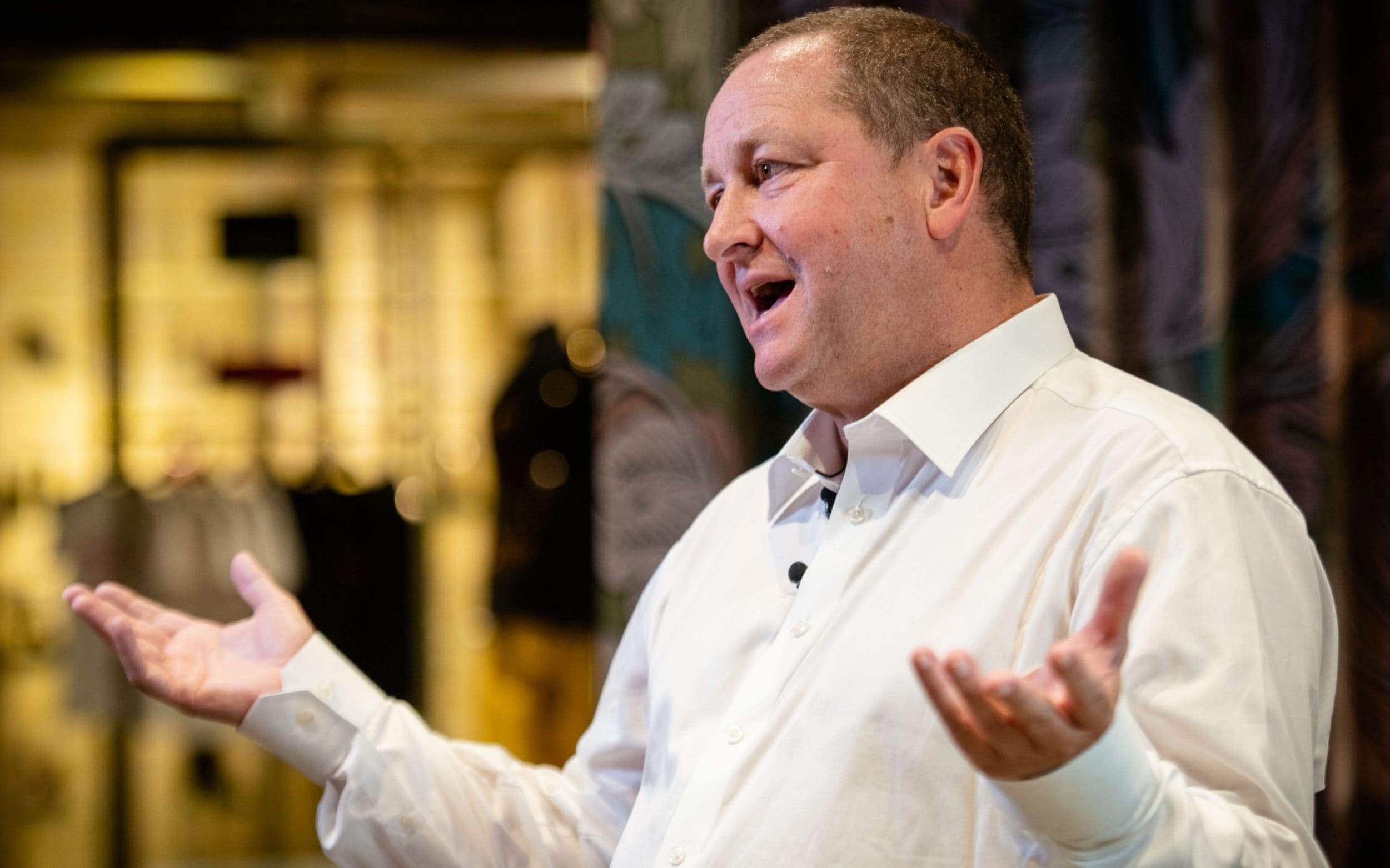 The sports direct boss says he wants a deal done by. Mike Ashley's apology seems sincere, but it wouldn't have ...